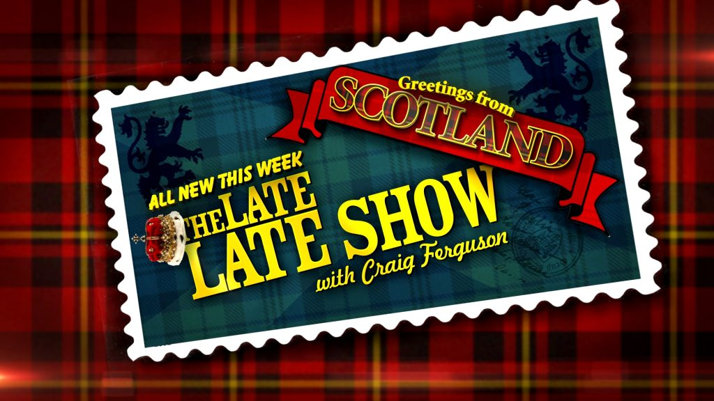 Package designed for The Late Late Show