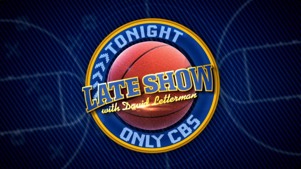 Graphics for The Late Show with Letterman