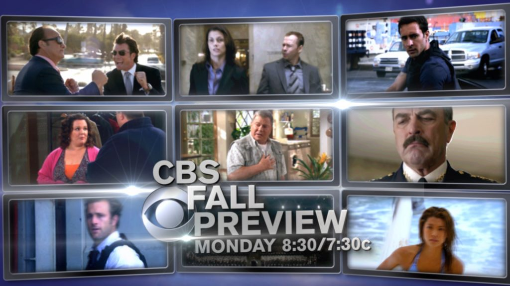 CBS Fall Preview Promo