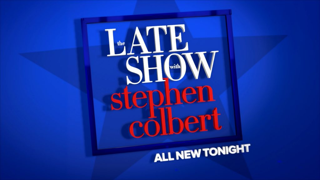 Motion Graphics designed for The Late Show